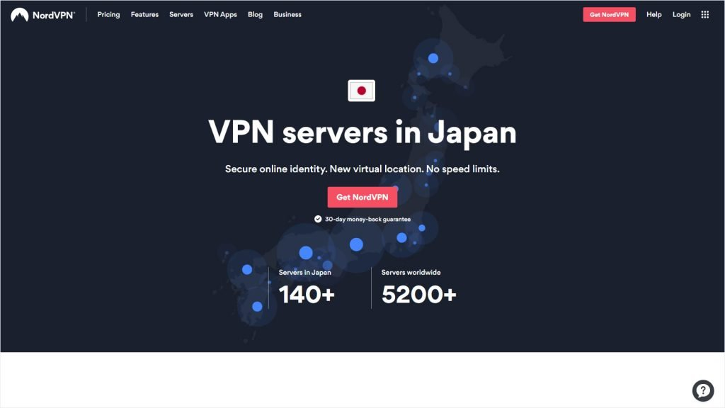 Best VPN for Japanese Netflix - NordVPN