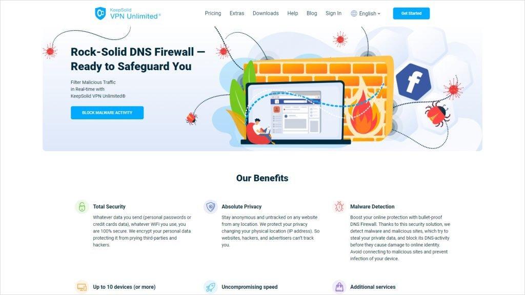 Best VPN with Lifetime Subscription - KeepSolid VPN Unlimited