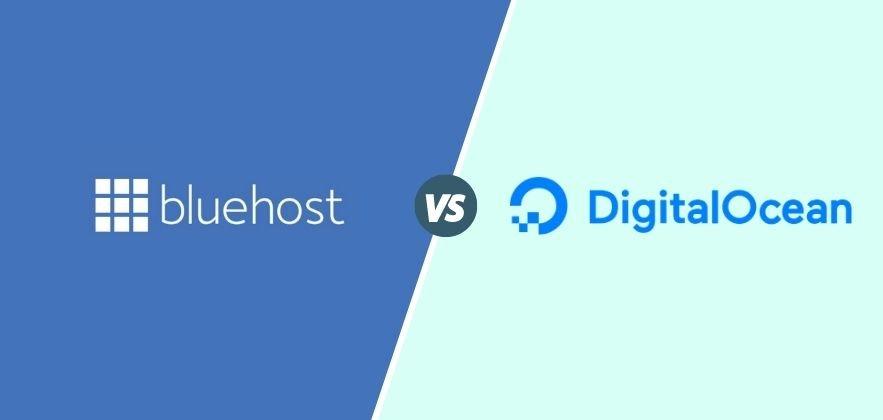 Bluehost vs DigitalOcean featured