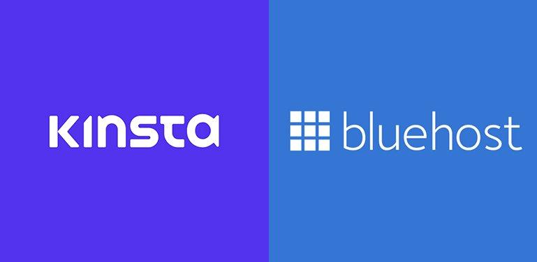 Kinsta vs Bluehost Comparison