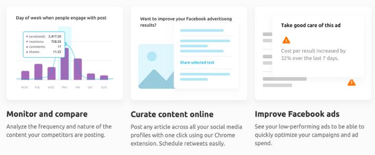 SEMrush Social Media Research Tool