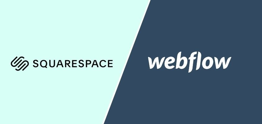 Squarespace vs Webflow featured
