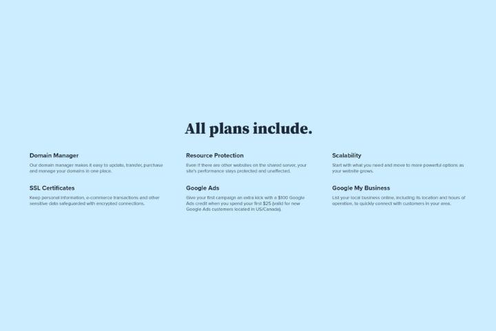 Bluehost Basic vs Plus Features