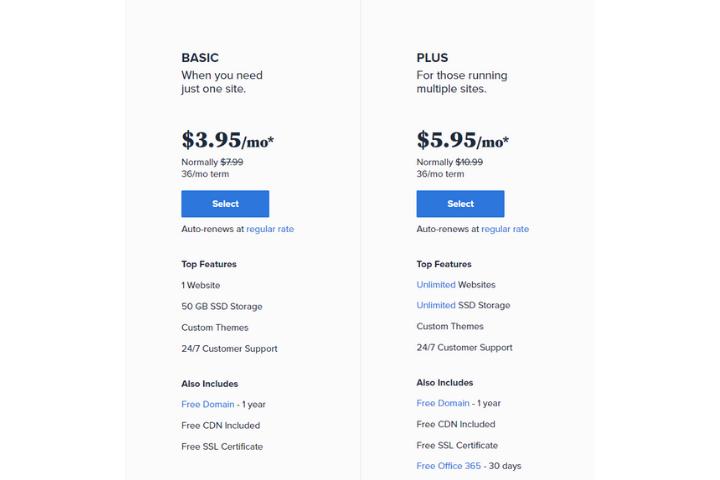 Bluehost Basic vs Plus Value