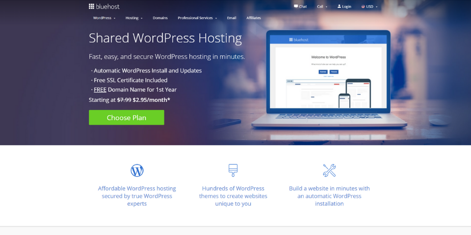 Bluehost vs Squarespace Personalization and Ease of Use