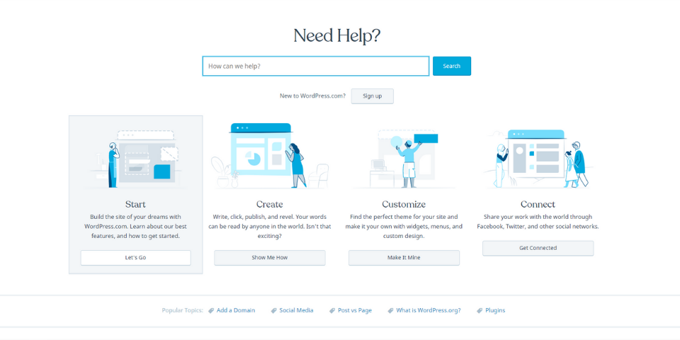 Bluehost vs WordPress Support