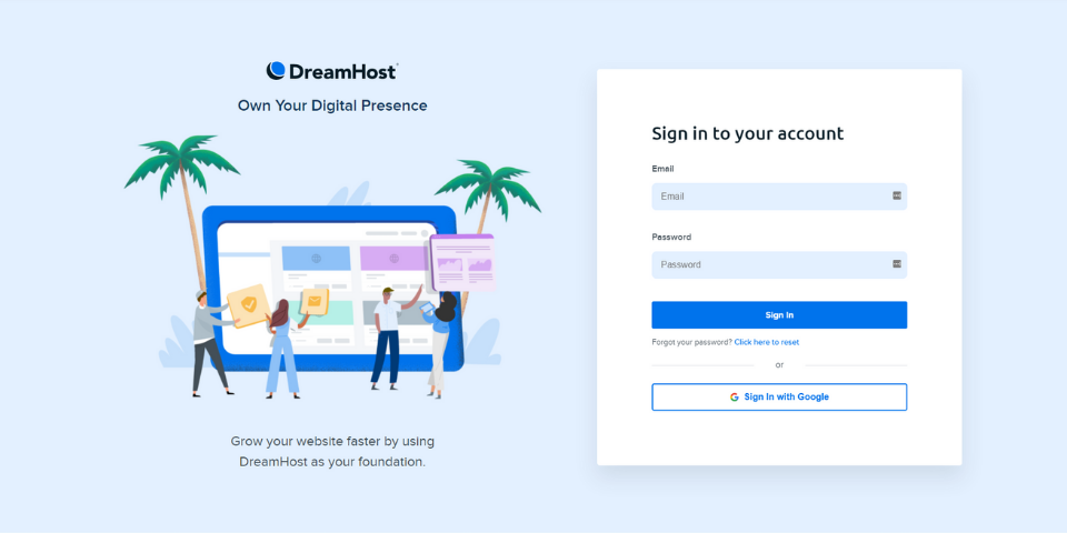 DreamHost Happy Hosting Review Ease of Use