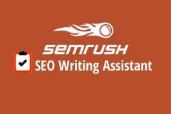 SEMrush SEO Writing assistant logo