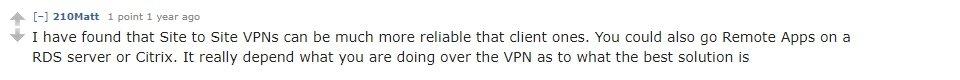 VPN Alternatives Reddit